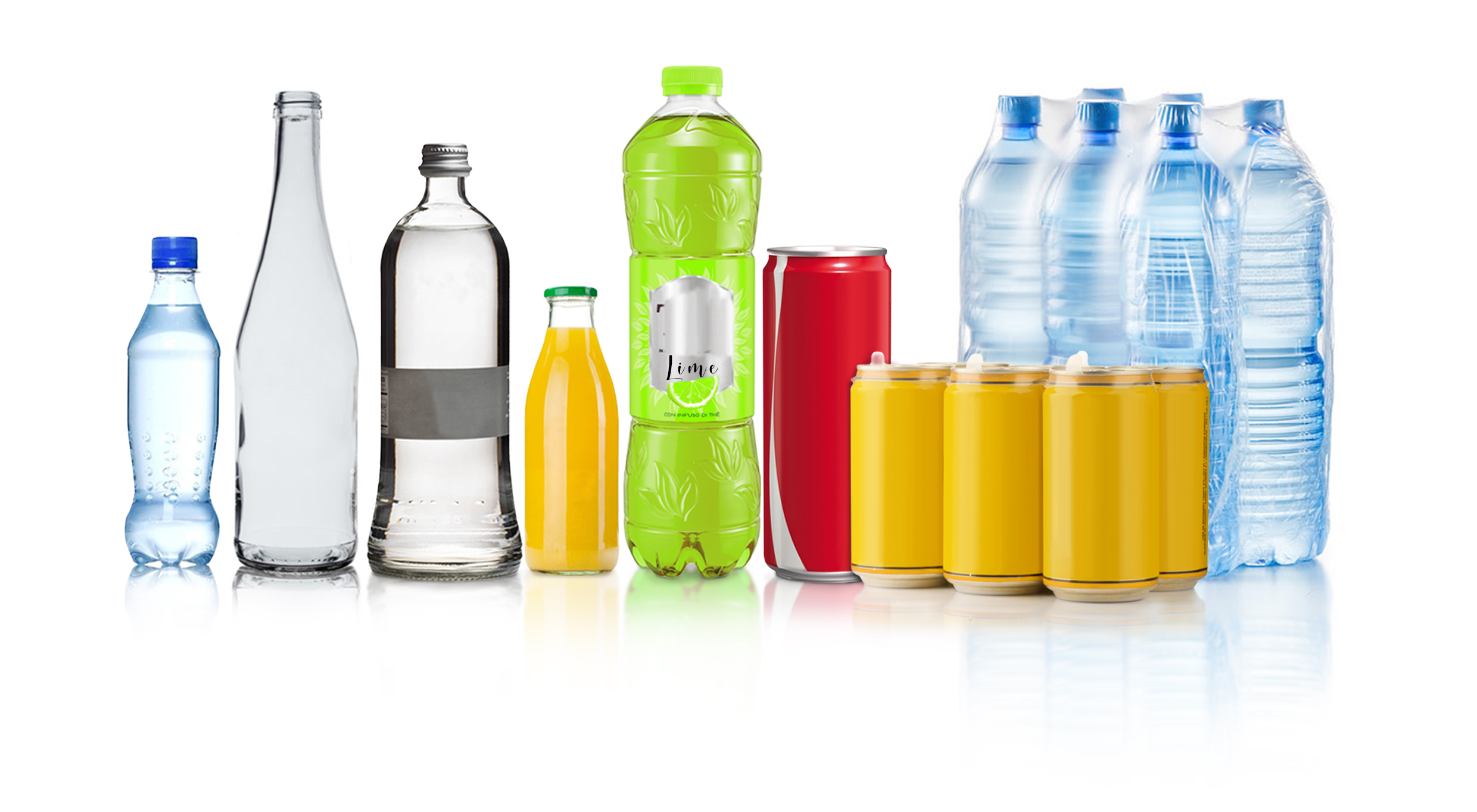 packaging solutions for water & soft-drinks
